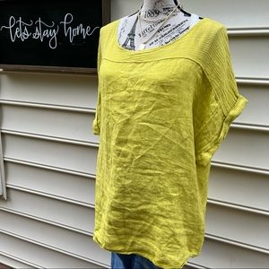 Made in Italy linen top